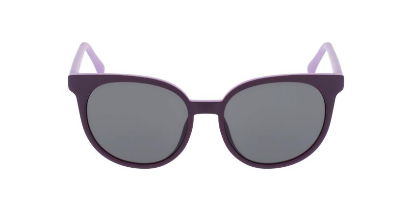 Lunettes de soleil enfant MAKANI violet - Vue de face