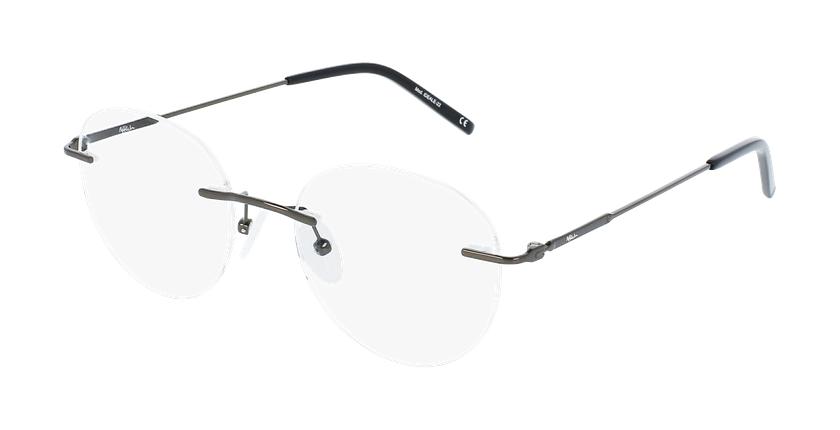 Lunettes de vue homme IDEALE-22 gris - Vue de face