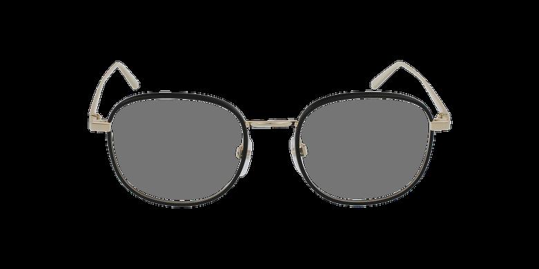 Lunettes de vue femme MARC 478 noir/doréVue de face