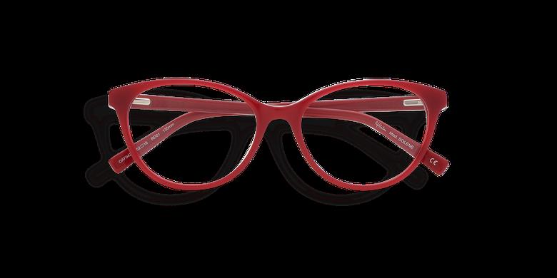 Lunettes de vue femme SOLENE rouge