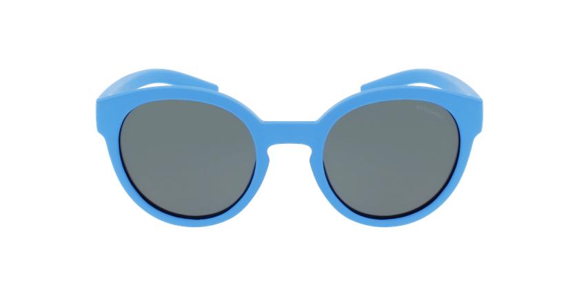 Lunettes de soleil enfant PLD 8019/S/SM bleu - Vue de face