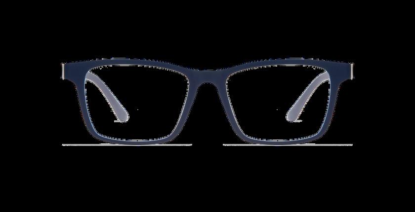 Lunettes de vue homme MAGIC 01 bleu/bleu mat / bleu foncé - Vue de face