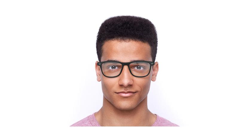 Lunettes de vue homme MAGIC 46 noir - Vue de face