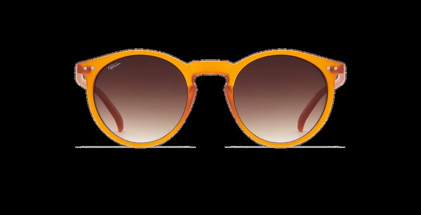 Lunettes de soleil ALTEA orange - Vue de face