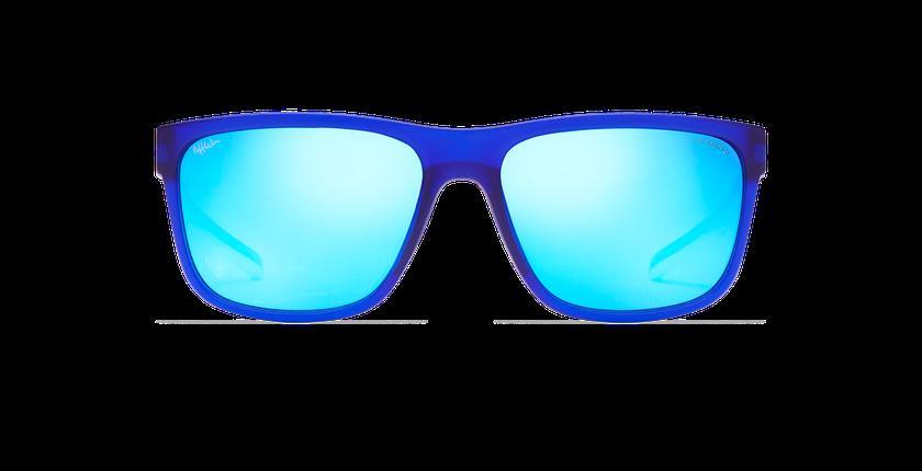 Lunettes de soleil homme WAYNE bleu - Vue de face