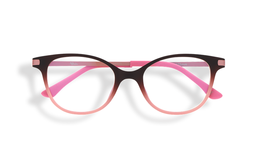 Lunettes de vue enfant MAGIC 31 BLUEBLOCK marron/rose - danio.store.product.image_view_face