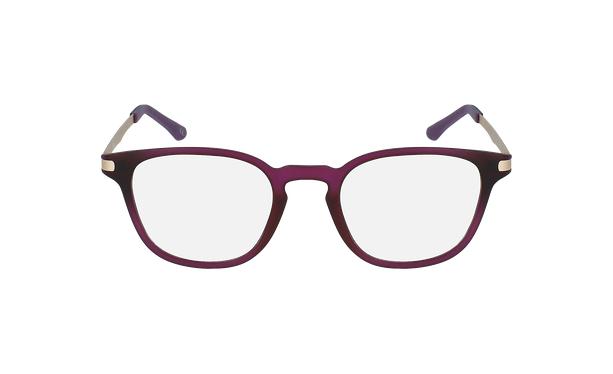 Lunettes de vue femme MAGIC 40 violet - Vue de face