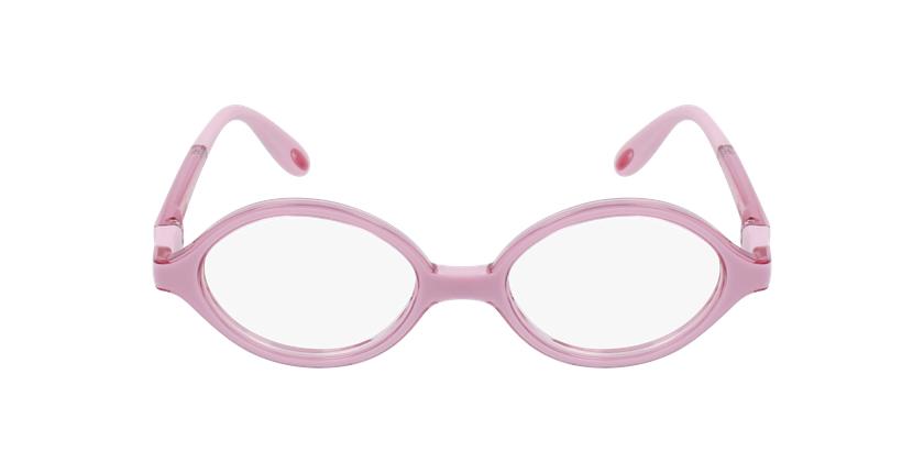 Lunettes de vue enfant RFOB1 rose - Vue de face