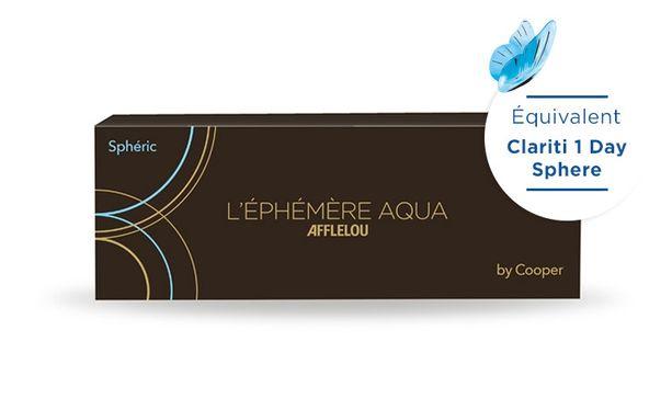 Lentilles de contact Ephémère Aqua Journalière Sphere 30L - danio.store.product.image_view_face