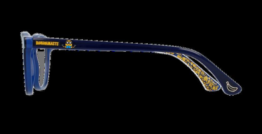 Lunettes de vue enfant BANANAMASTE bleu - Vue de côté