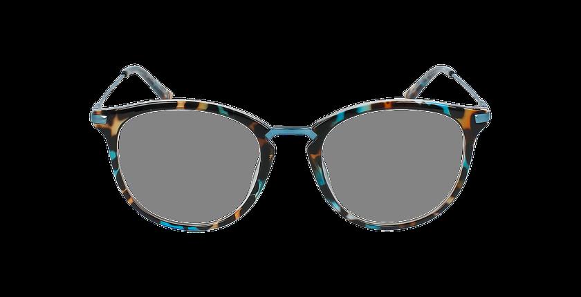 Lunettes de vue ANGIE bleu - Vue de face