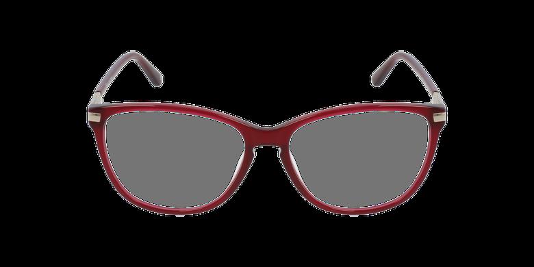 Lunettes de vue femme OAF20520 rougeVue de face