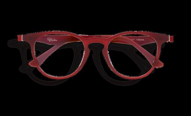 Lunettes de soleil MAGIC 27 BLUEBLOCK rouge - danio.store.product.image_view_face