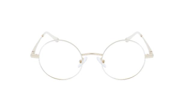 Lunettes de vue MAGIC 96 blanc/doré - Vue de face