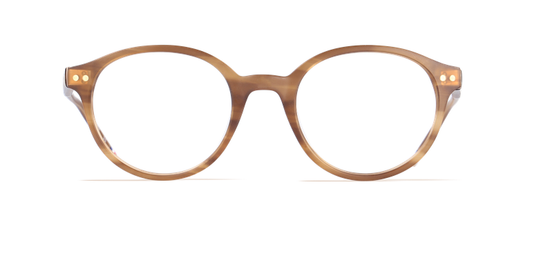 Lunettes de vue homme LIMBA marron