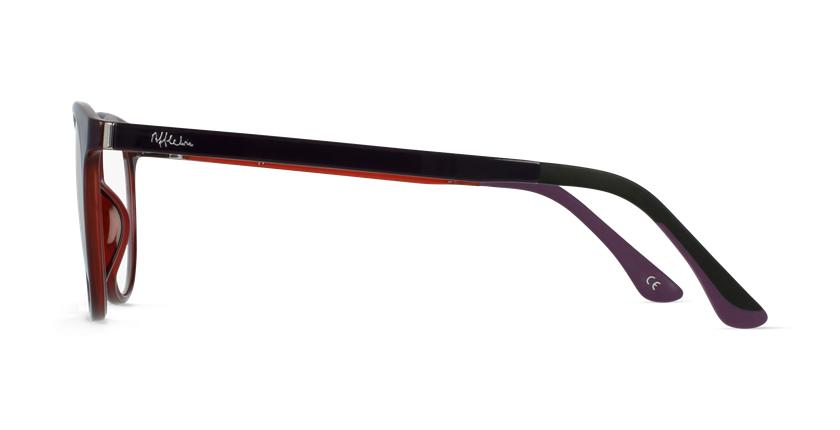 Lunettes de vue femme MAGIC 36 violet/rose - Vue de côté