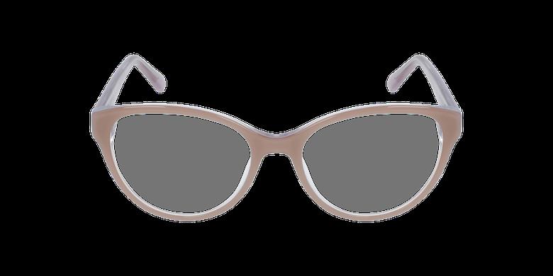 Lunettes de vue femme OAF20521 marronVue de face