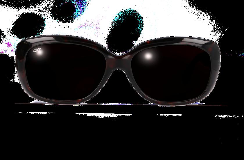 Lunettes de soleil femme AMANDA écaille - danio.store.product.image_view_face