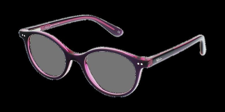 Lunettes de vue enfant CAPUCINE violet/rose