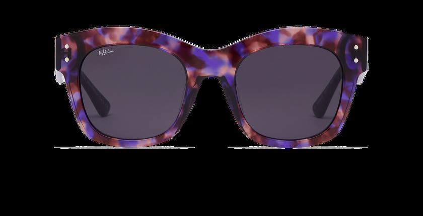 Lunettes de soleil femme ORNELLA violet - Vue de face