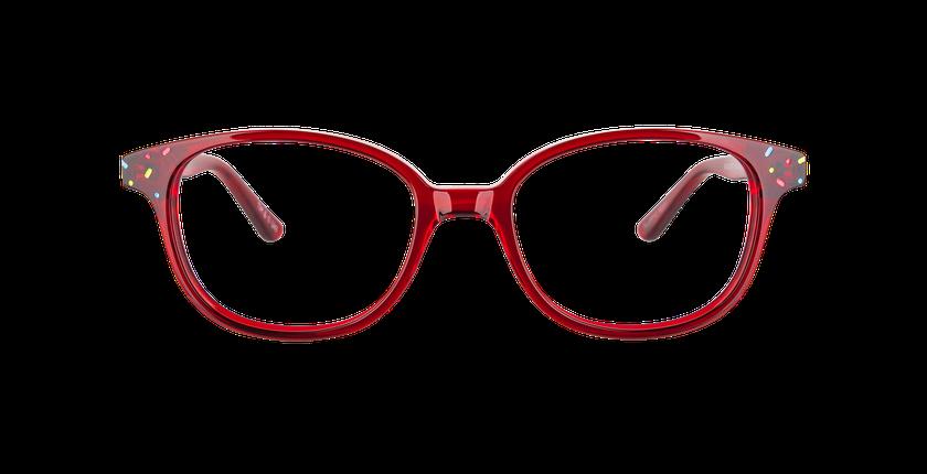 Lunettes de vue enfant FLUFFY2 rouge - Vue de face
