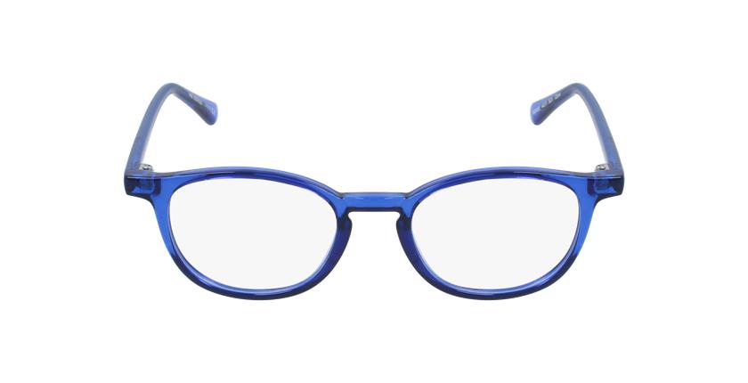 Lunettes de vue enfant RZERO22 bleu - Vue de face
