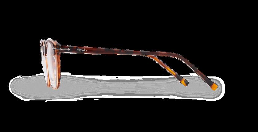 Lunettes de vue homme LONGCHAUMOIS marron/écaille - Vue de côté