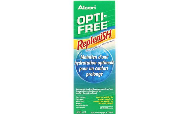 Opti-Free Replenish 300ml - Vue de face