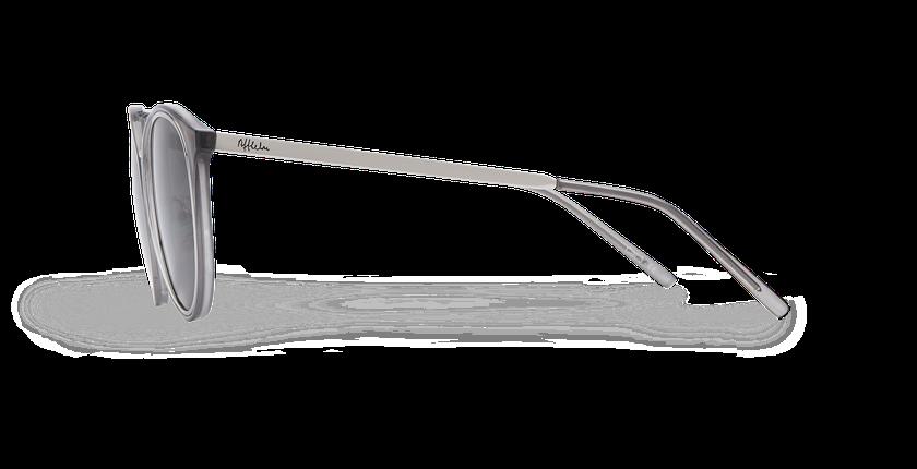 Lunettes de soleil femme BELICIA gris/argenté - Vue de côté