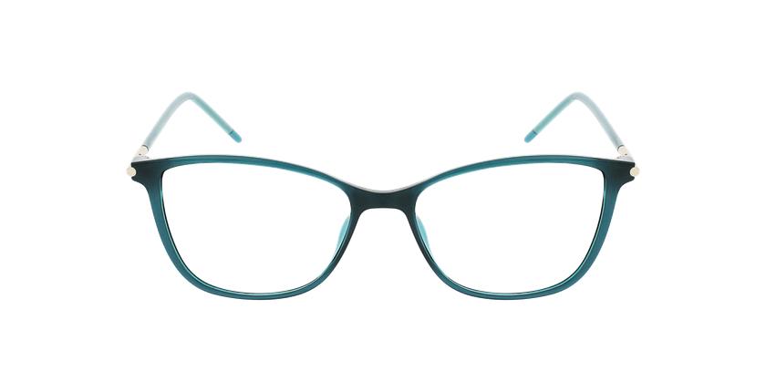 Lunettes de vue femme MAGIC 89 vert - Vue de face