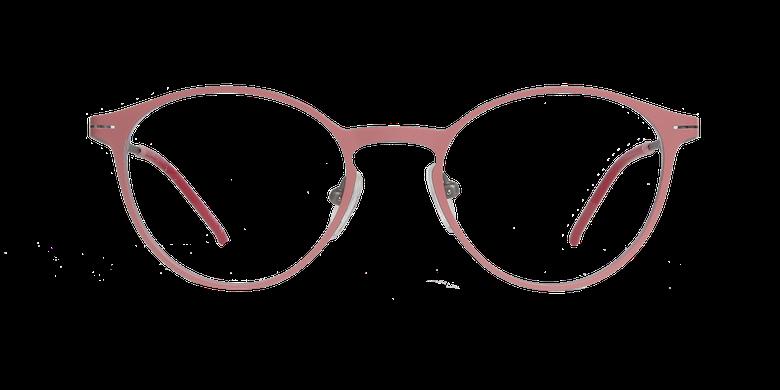 Lunettes de vue femme OXYGEN rose/argentéVue de face