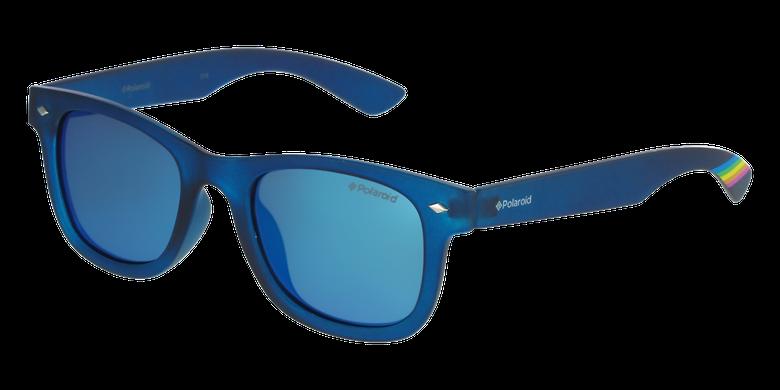 Lunettes de soleil enfant PLD 8009/N bleu/bleuvue de 3/4