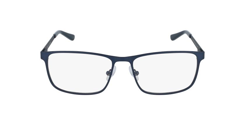 Lunettes de vue homme GERMAIN bleu - Vue de face