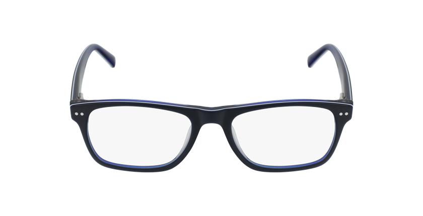 Lunettes de vue enfant TED bleu/blanc - Vue de face