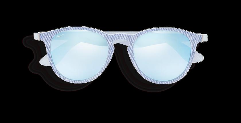 Lunettes de soleil femme VARESE bleu/violet - Vue de face