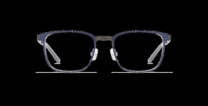 Lunettes de vue homme ALPHA17 bleu/gris - Vue de face