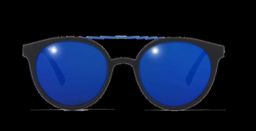Lunettes de soleil homme LAGOS noir/bleu - Vue de face