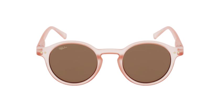 Lunettes de soleil enfant LIO rose - Vue de face