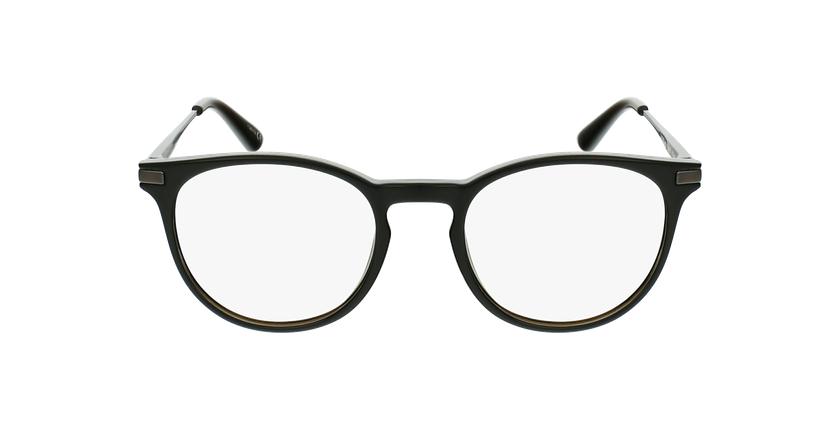 Lunettes de vue enfant ANTONIN noir/argenté - Vue de face
