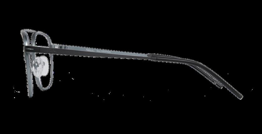 Lunettes de vue homme KRYPTON blanc/argenté - Vue de côté