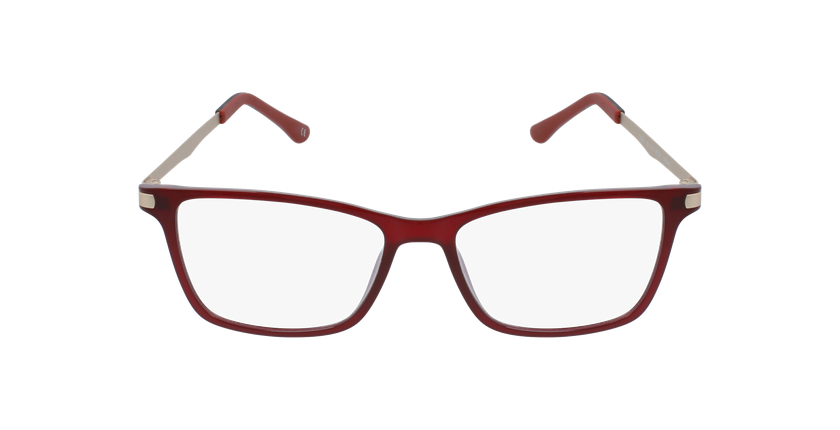 Lunettes de vue femme MAGIC 61 BLUEBLOCK rouge - Vue de face