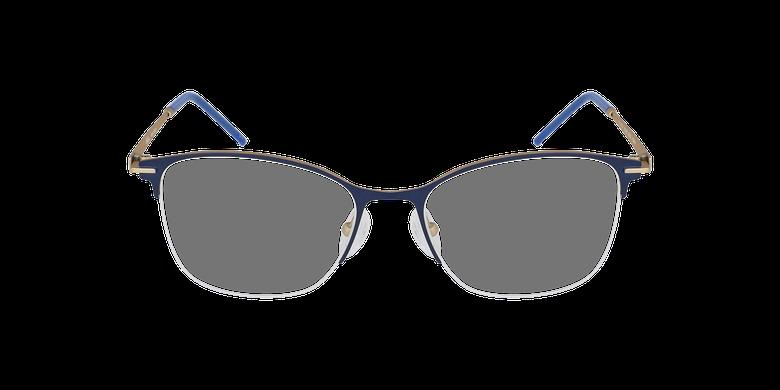 Lunettes de vue femme VEGA bleu/doré
