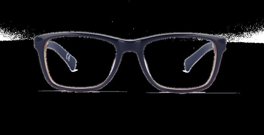 Lunettes de vue homme CALVIN KLEIN JEANS bleu/marron - Vue de face