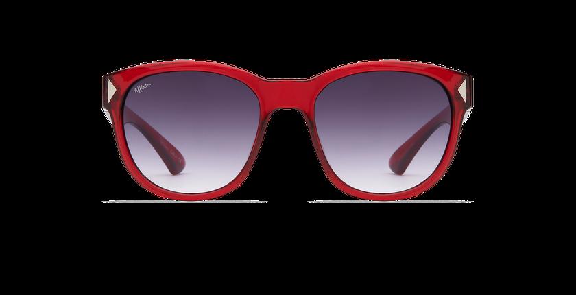 Lunettes de soleil femme ANITA rouge - Vue de face