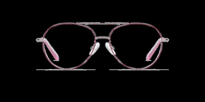Lunettes de vue HAYDEN rose/gris