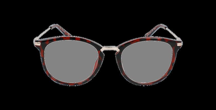 Lunettes de vue ANGIE rouge - Vue de face