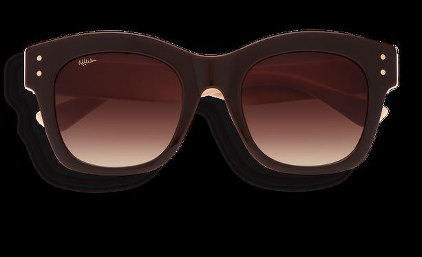 Lunettes de soleil femme ORNELLA marron - danio.store.product.image_view_face
