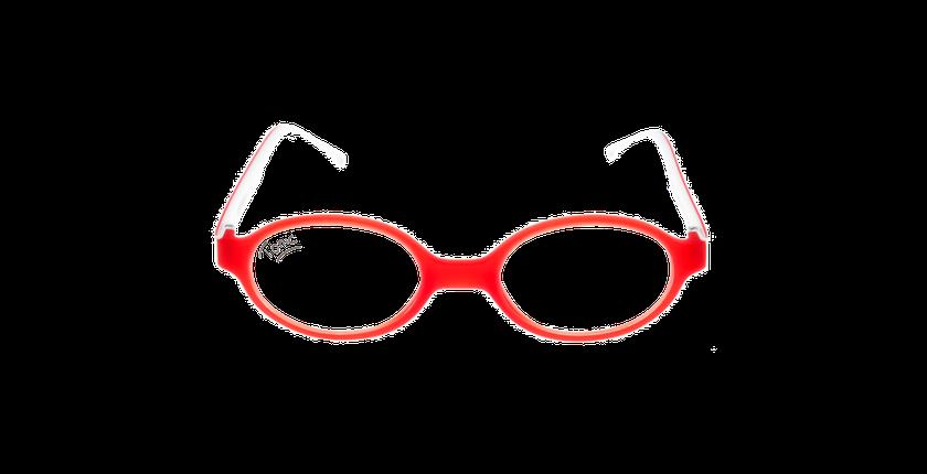 Lunettes de vue enfant LIGHT TONIC rouge - Vue de face