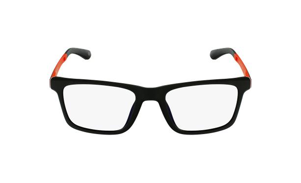 Lunettes de vue enfant MAGIC 64 noir/orange - Vue de face