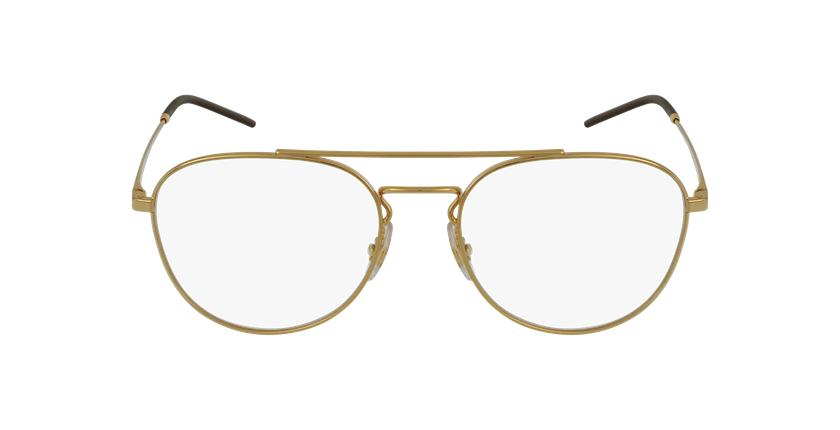 Lunettes de vue 0RX6414 doré - Vue de face